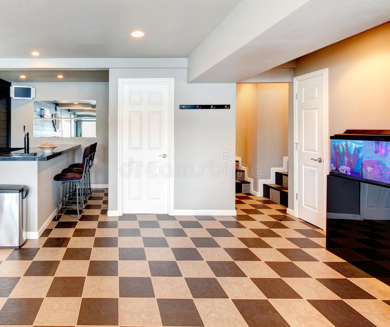 Download Entertainment Room With Bar Stock Photo - Image: 37067142