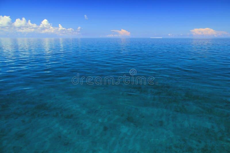 Entfernte Ansicht des Ostschlüssels in trockenem Nationalpark Tortugas lizenzfreie stockfotografie