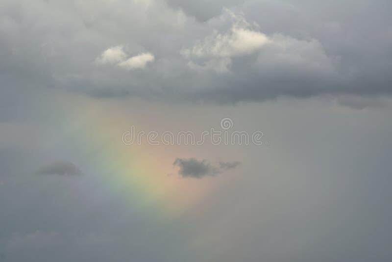 Entfernter atmosphärischer Effekt stockbild