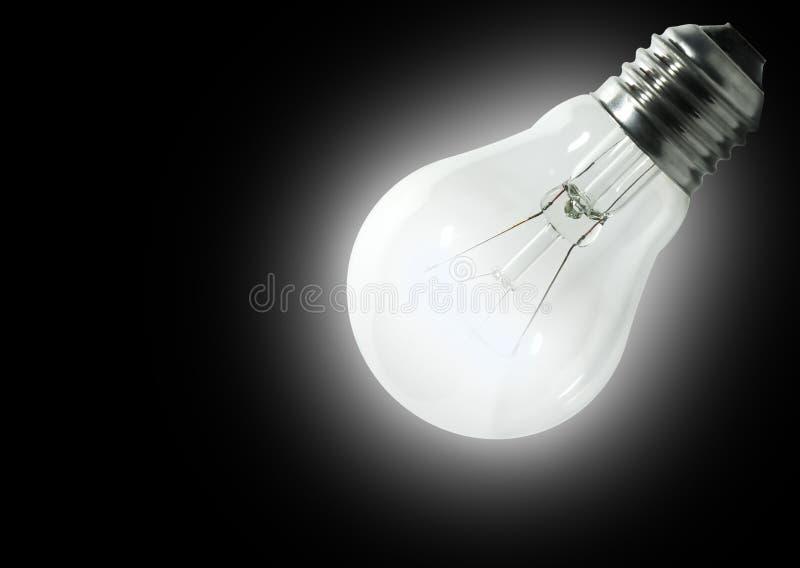 Enthaltene elektrische Lampe stockbilder