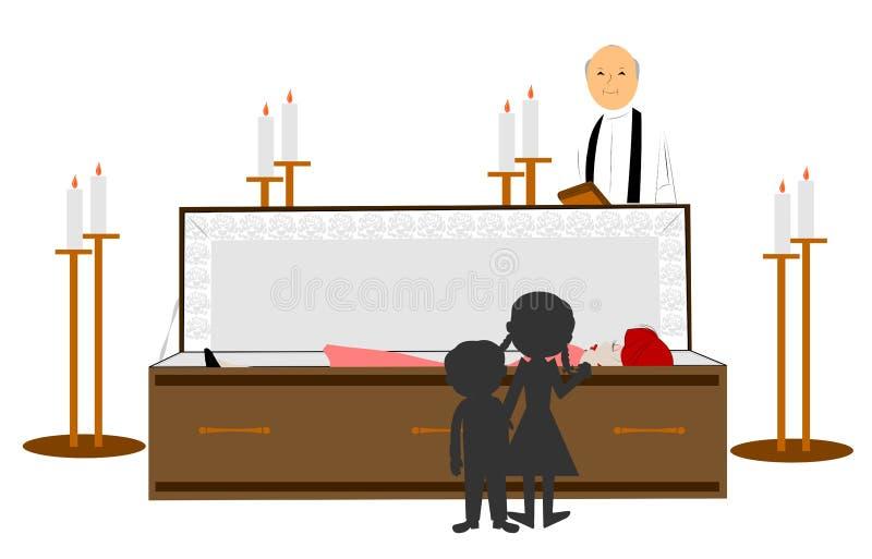 entierro libre illustration