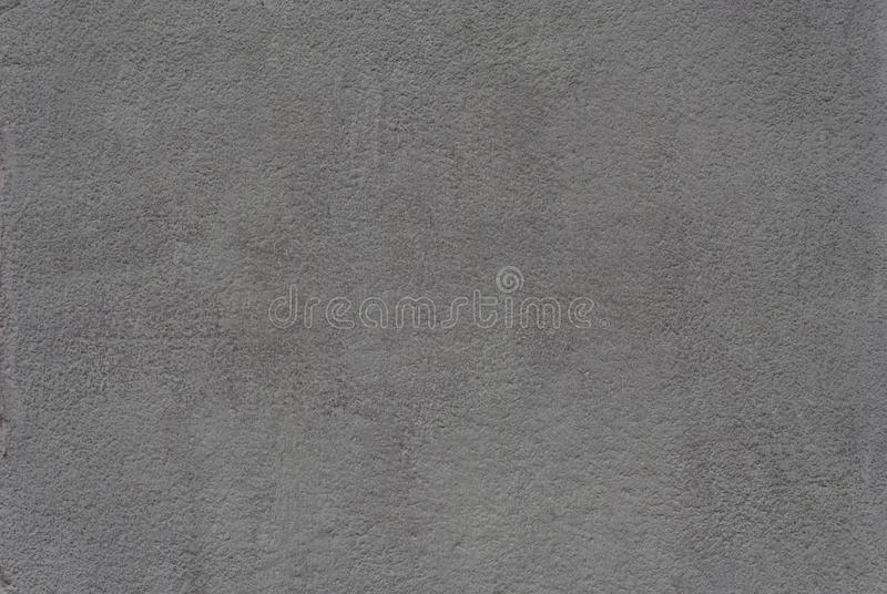 Entlastungsvolumengips auf der Wand des Geb?udes, hellgrau lizenzfreie stockfotografie