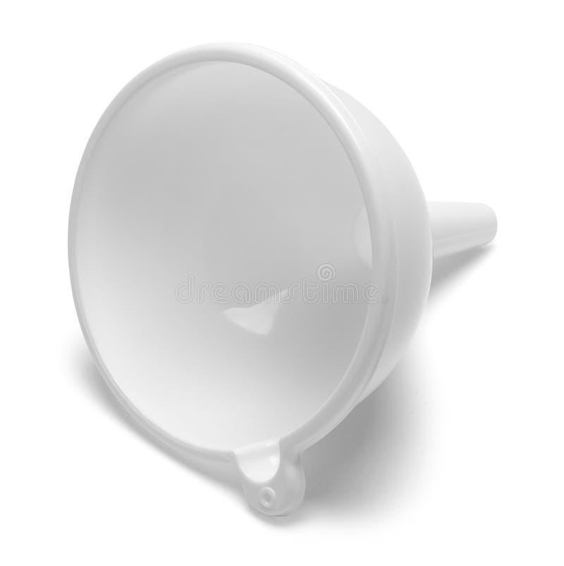 Entonnoir blanc images stock
