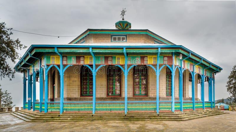 Entoto Maryam Church arkivfoto