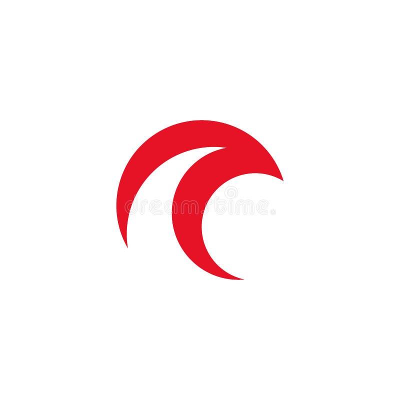 Entourez les icônes principales d'oiseau, conception de vecteur de logo d'oiseau illustration de vecteur