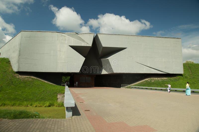 Entrée à la forteresse de Brest, Belarus photo stock