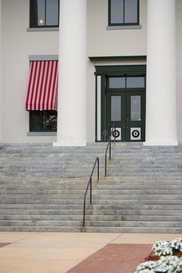 Entrée au bâtiment de musée de capitol d'état de la Floride photo libre de droits