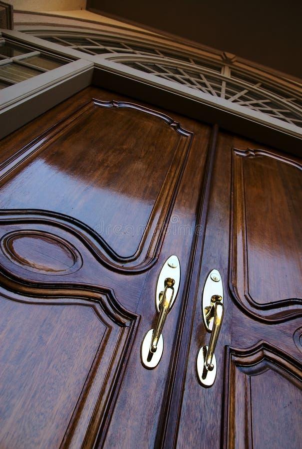 Entrée d'entrée principale à la maison photographie stock