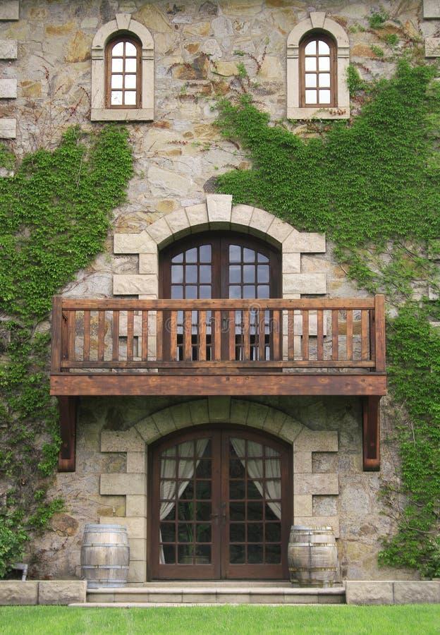 Entrée de château photographie stock