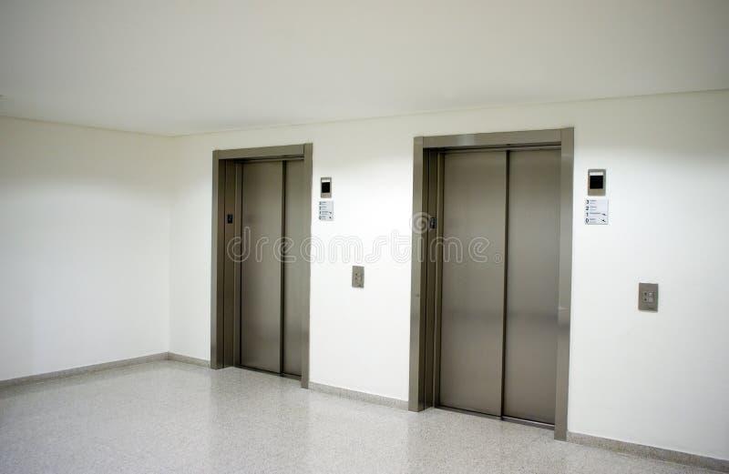 Entrée de hall d'ascenseur images libres de droits