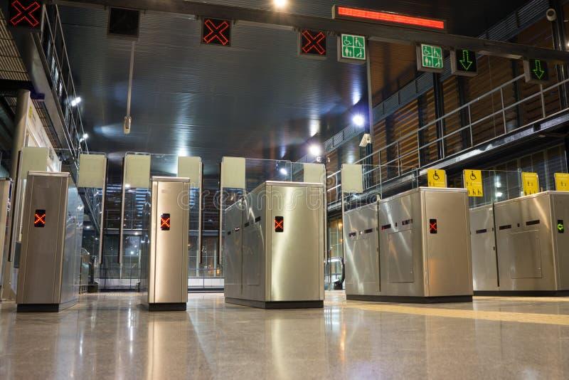 Entrée de métro photo libre de droits