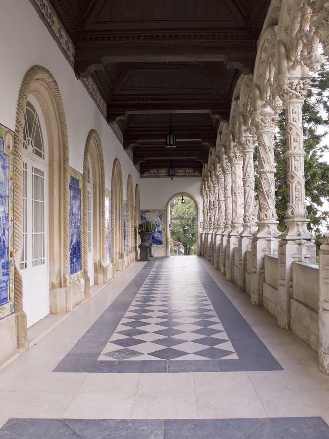 Entrée De Palais Photos stock