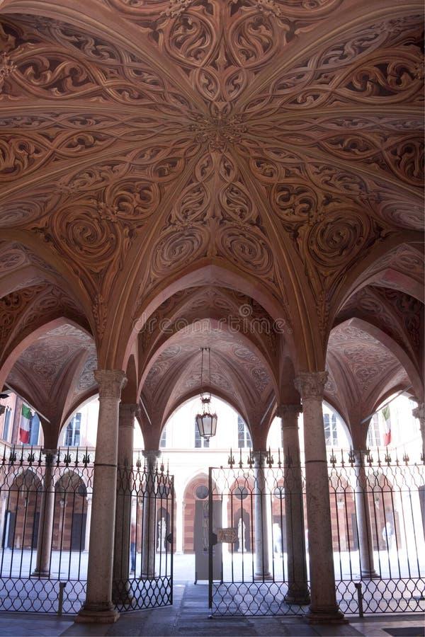 Entrée de palais de la Renaissance photographie stock