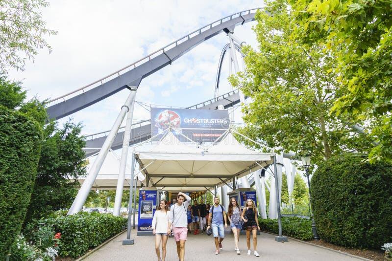 Download Entrée De Parc D'Europa Dans La Rouille, Allemagne Photo éditorial - Image du construction, décor: 77157986