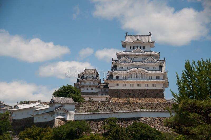 Entrée de pont de château de Himaji photo stock