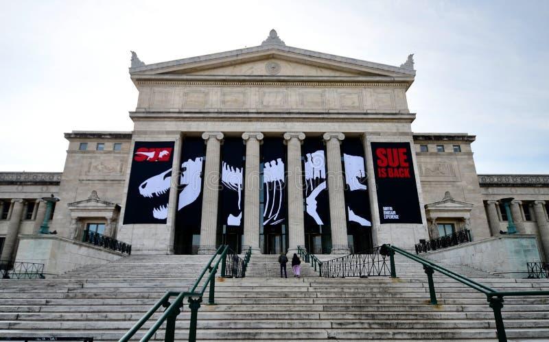 Entrée du nord de musée de champ photos libres de droits