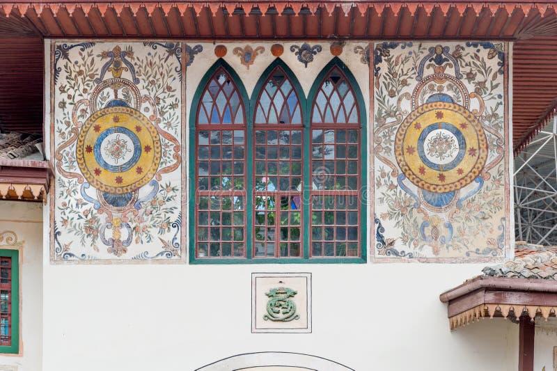 Entrée du Palais Khan photo libre de droits