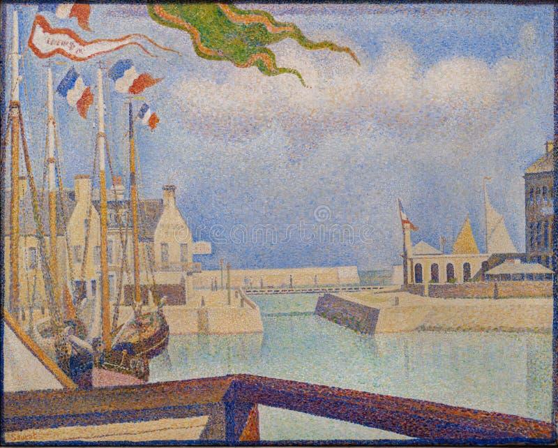 Une Peinture Par Georges Seurat Dans Le National Gallery A Londres Image Stock Editorial Image Du Peinture Dans 101900324