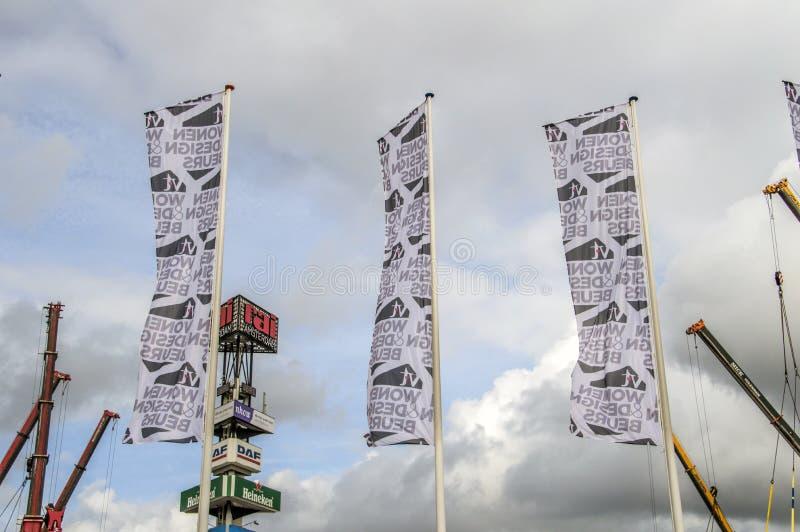 Entrée du VT Wonen et exposition de Beurs de conception chez le Rai Amsterdam complexe le 2018 néerlandais image stock