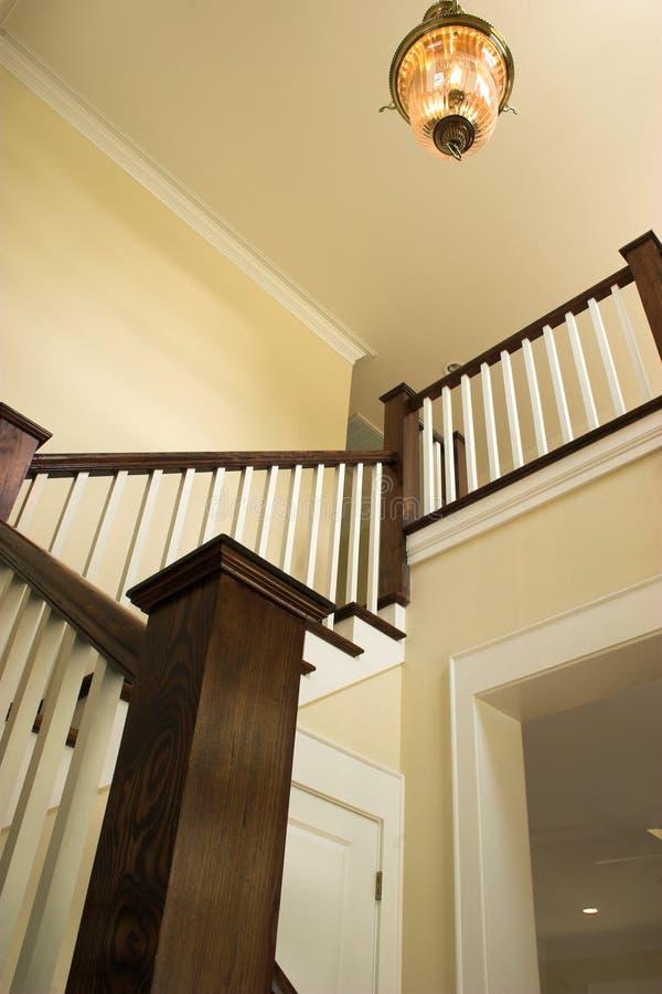 Entrée et escaliers photo stock