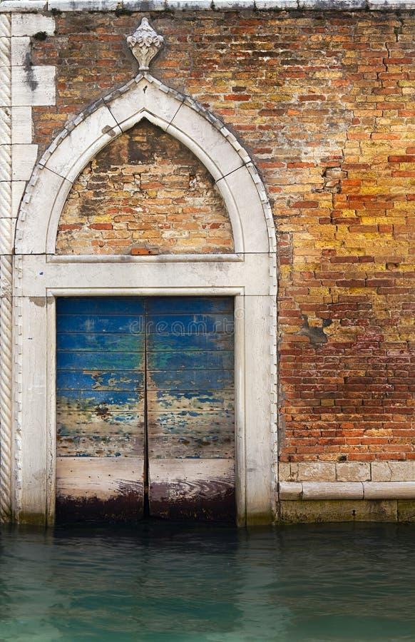 Entrée principale de Venise. image stock