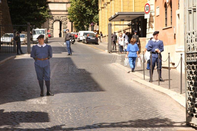 Entrée Rome Italie de Vatican image libre de droits