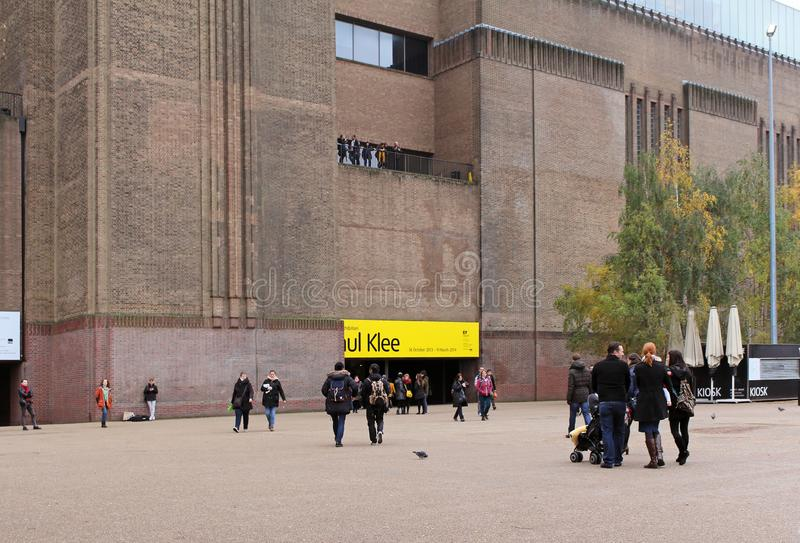 Entr?e de Tate Modern image libre de droits