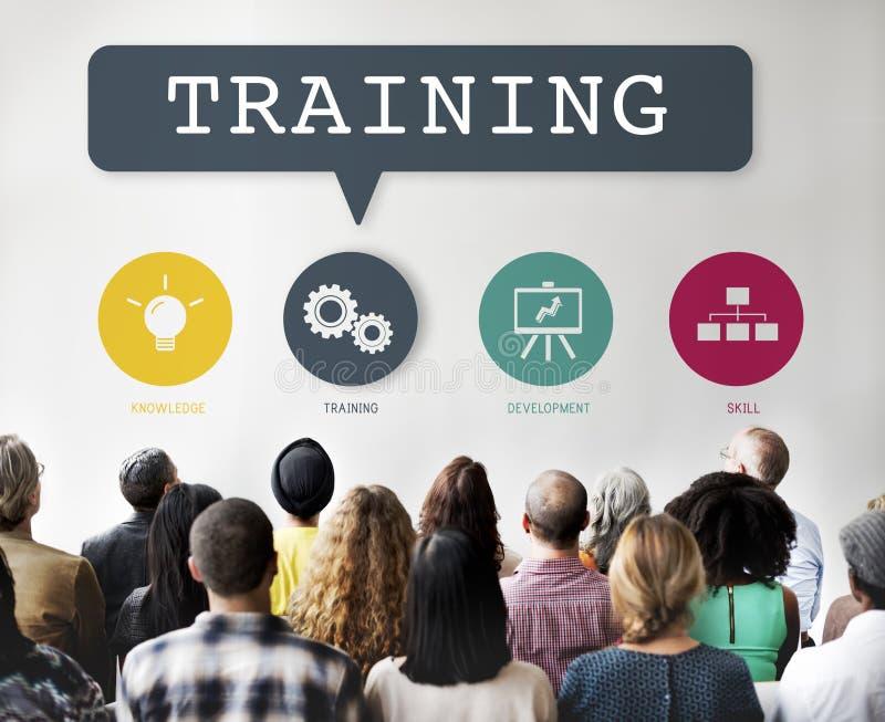 Entraînement de la représentation de formation apprenant le concept de pratique photo stock