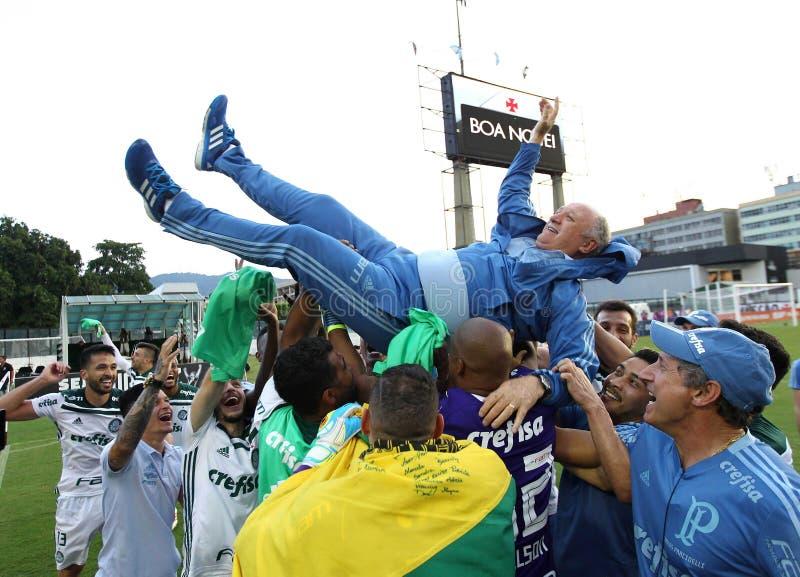 Entraîneur Felipe Scollari du football photos stock