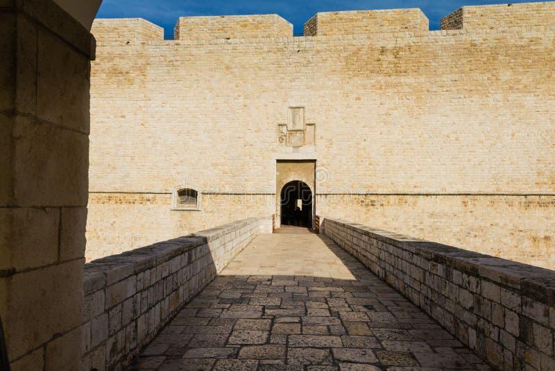 Entrace de château photo libre de droits