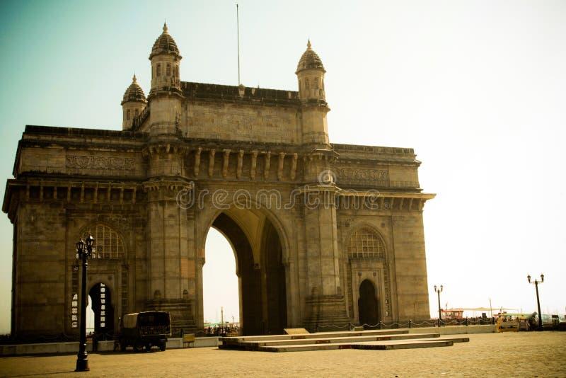 A entrada à Índia, Mumbai, Índia imagem de stock royalty free