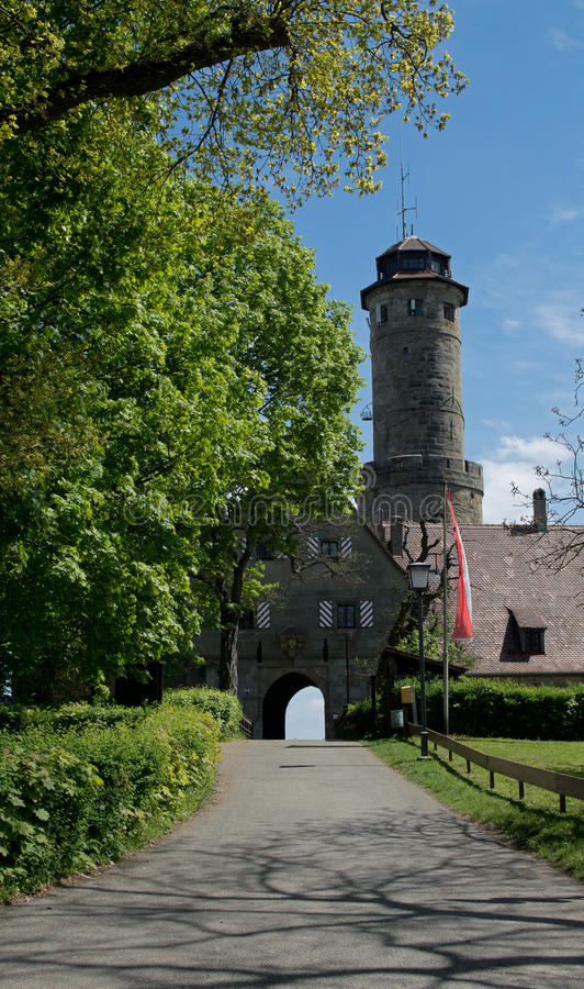 Entrada al castillo alemán Altenburgo fotografía de archivo libre de regalías