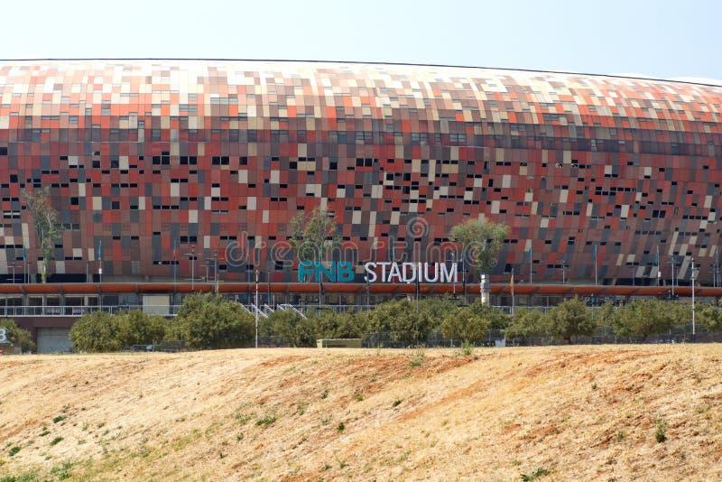 Entrada al FNB Stadium foto de archivo libre de regalías