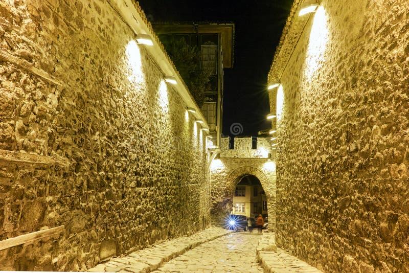Download Entrada Antiga Da Fortaleza Da Cidade Velha Da Cidade De Plovdiv, Bulgária Foto de Stock - Imagem de parque, destino: 65578612