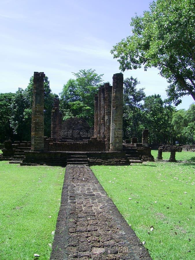 Entrada ao templo imagem de stock