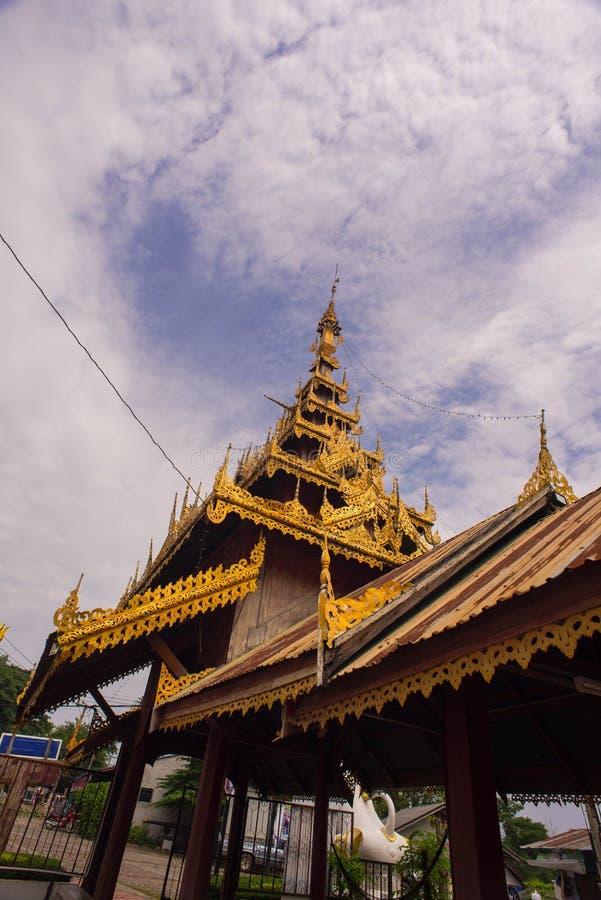 Entrada ao templo fotos de stock