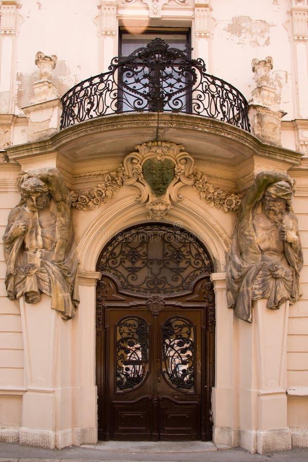 Download Entrada barroco do estilo imagem de stock. Imagem de history - 65575625