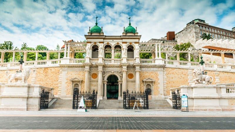 Entrada bonita a Buda Castle imagem de stock royalty free