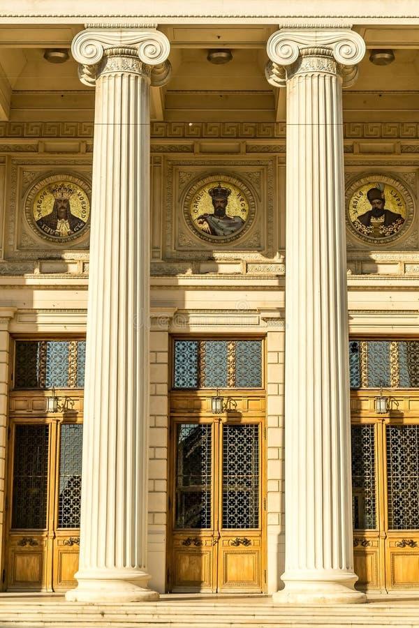 Entrada com colunas foto de stock royalty free
