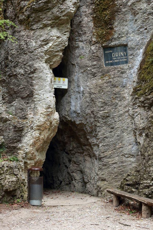 Entrada da caverna imagem de stock royalty free