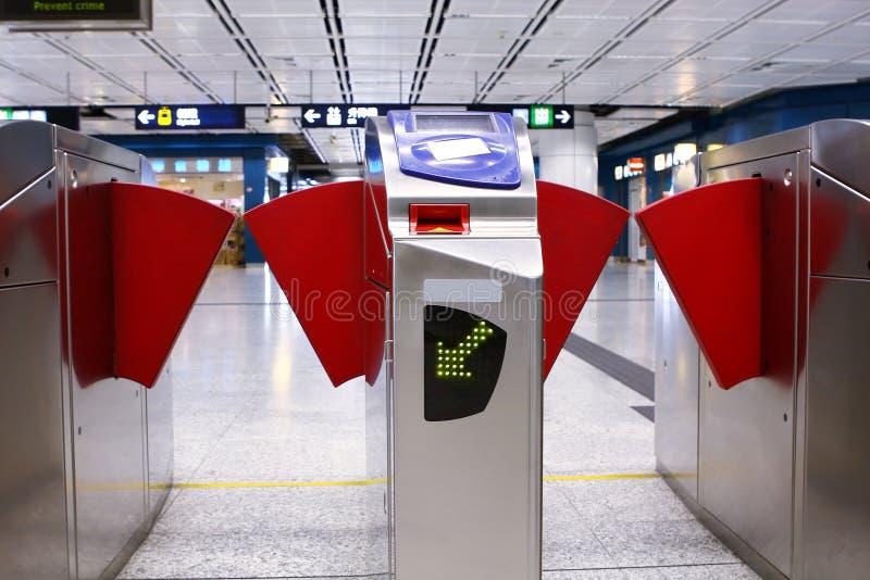 Entrada da estação de comboio foto de stock royalty free