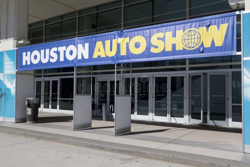 Entrada de Houston Autoshow imagen de archivo