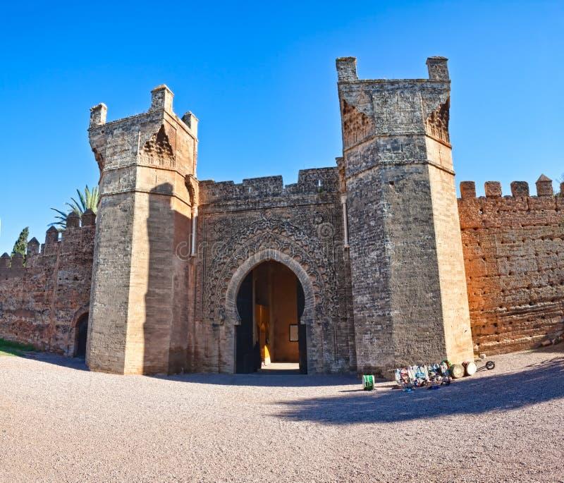 Entrada de Kellah - Marocco foto de stock royalty free