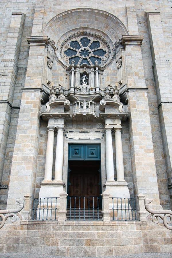 Entrada de la catedral fotos de archivo libres de regalías