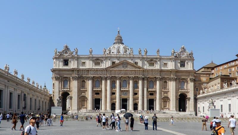 Entrada de la Ciudad del Vaticano fotografía de archivo libre de regalías
