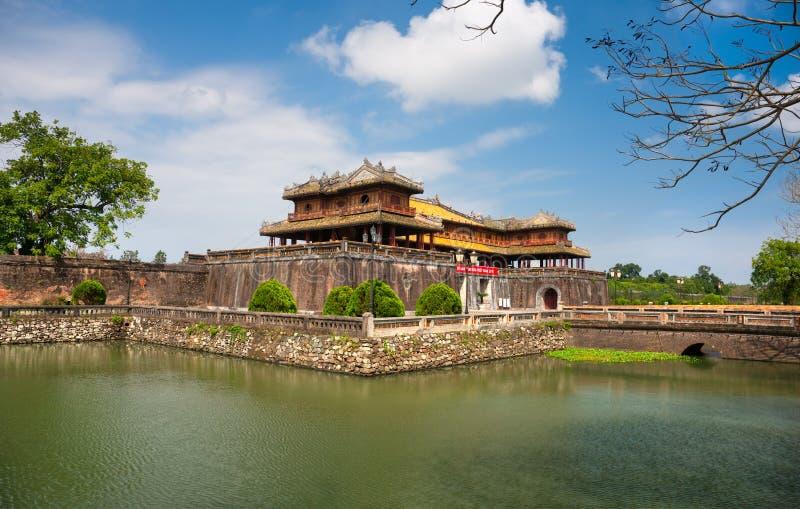 Entrada de la ciudadela, tonalidad, Vietnam. imágenes de archivo libres de regalías