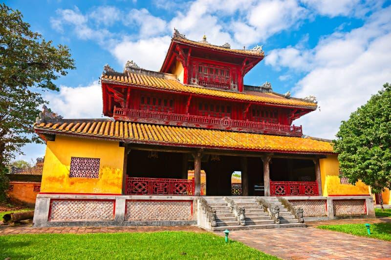 Entrada de la ciudadela, tonalidad, Vietnam. foto de archivo