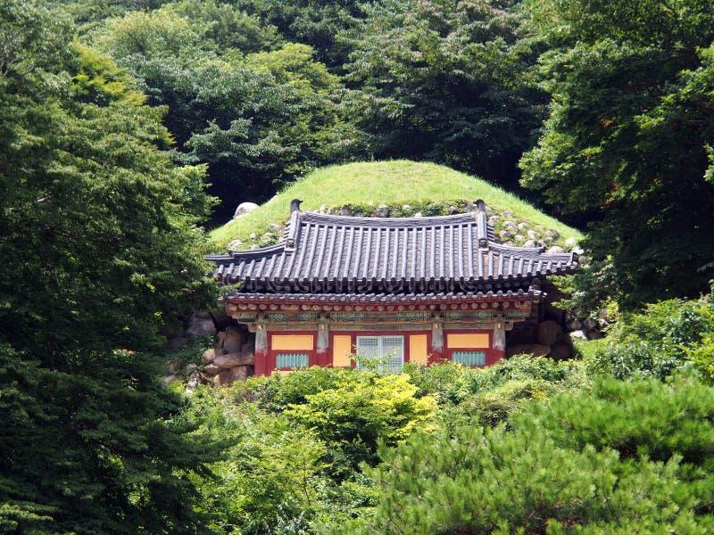 Entrada de la gruta de Seokguram, Corea del Sur fotografía de archivo libre de regalías