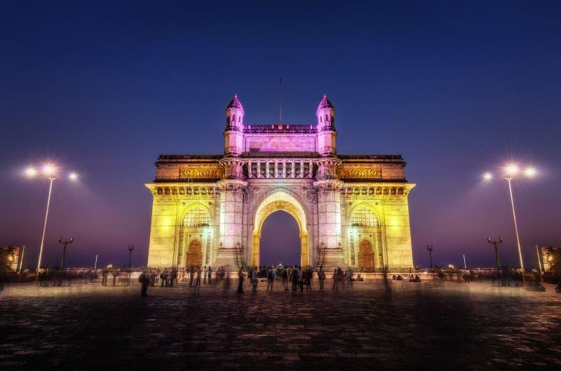 Entrada de la India Bombay Bombay fotografía de archivo