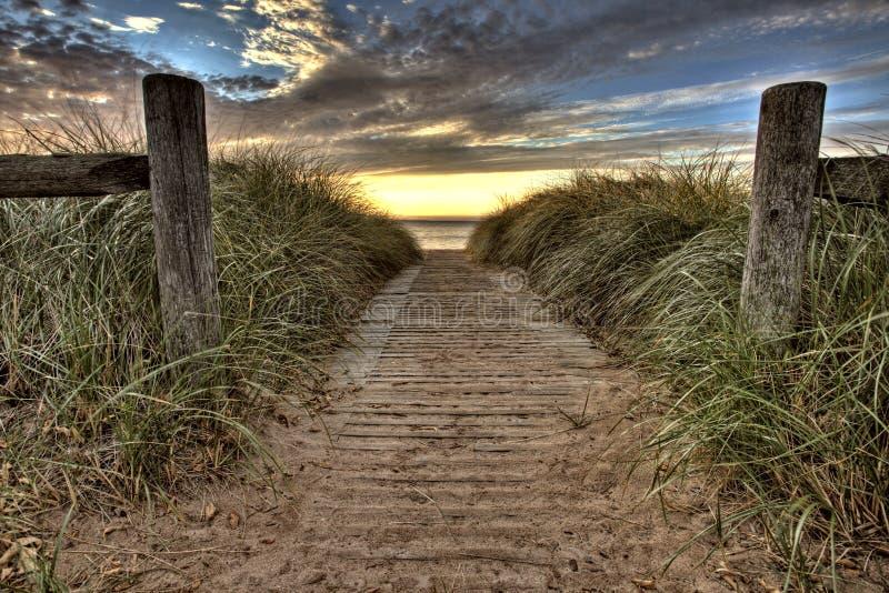 Download Entrada de la playa foto de archivo. Imagen de cubo, outdoor - 17487852